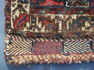"Bagface,South Persian,tribal, wool on wool, ca 55 x 65 cm. Old. Cleaned,washed, and thick piled. Listening ; "" The revolution was posponed because of rain "". Price including transport"