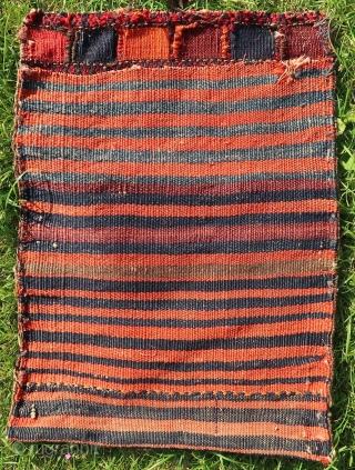 Kurdish Afshar, wool on wool, ca; 48 cm x 36 cm .Soft wool. Might be old.  Price including worldwide transport.  Listening ; Underworld - Bird 1