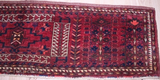 TURKMEN TORBA ORIGINAL GOOD CONDITION  4 rare animal picture  Clean and Hand Washed  Circa 1910/20 Size 1.64cm x 0.47cm