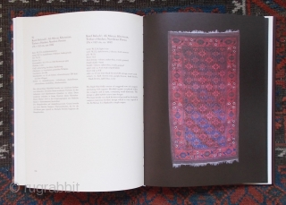 "Baluch rug literature: Bausback: ""Alte Knüpfarbeiten der Belutschen"" €14; Azadi: ""Carpets in the Baluch Tradition"" €28 (€40 combined), plus shipping at cost. Other Baluch rug titles available, please enquire."