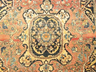 Stunning Antique Persian Haji Jalili  Tabriz Rug.