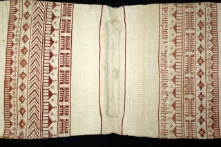 Donkey Trapping Bag From Kutch Gujarat,India.C.1900.Used for Carrying the Salt in White Rann Of Kutch.Its size is 65cm X 123cm.(DSL02830).
