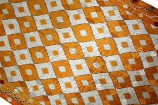 Phulkari From West(Pakistan)Punjab India. Rare Design Of Bagh. Floss Silk on Hand Spun Cotton khaddar Cloth. Mint condition.(DSL02990).