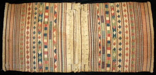 Camel Trapping Bag From Thar Desert Region near Jaisalmer Rajesthan India.C.1900.Its size is 63cm X 144cm.(DSL03040).