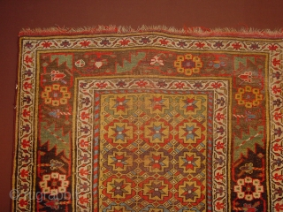 fabulous antque bidjar wonderful natural colors, one place of wear, no stains, no holes, no tears, all wool, flat lying 114x280cm 3.8x9.3ft