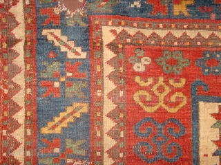 this is the real stuff, very antique large karachopf rugfragment , over 150 y old 185x110cm 6.2x3.7ft  E-mail direct because of website problem groen7@hotmail.com