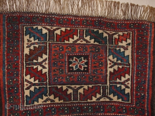 wonderful weramin antique bagface , great condition, great all natural colkors  50x31cm 1.7x1ft without the fringes