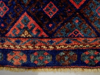 Full Pile Jaf Size: 82x53cm super wool quality, made in 1910