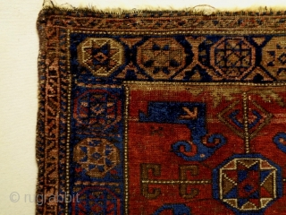 Baluch Bagface Size: 85x70cm Natural colors, made in circa 1910