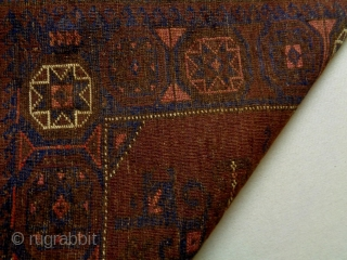 Baluch Bagface Size: 88x65cm Natural colors, made in circa 1910/20
