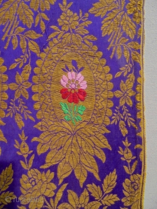 19th Century Ottoman Bursa Catma Fragment