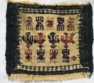 Baluch bagface embroidered,1880 circa size 30x25cm