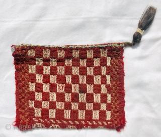 Flatweave Qashqai chanteh all good colors,size 60x30cm