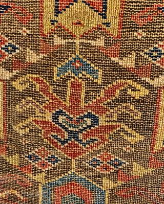 savojbolagh kurdish fragment 1860 circa,size73x43cm