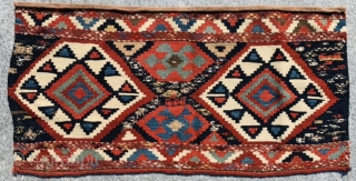 Shahsevan Mafrash panel 1880 circa in perfect condition all good colors,size 56x105cm