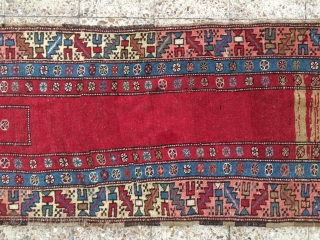 NW Persia runner dated 1302 about 136 years old in a good condition,Size:232x77 cm