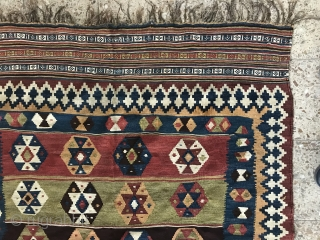 Qashqaie kilim in perfect condition,Size:255x139 cm