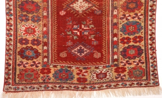 Mid 19th Century Lovely Melas Prayer Rug size 92x125 cm