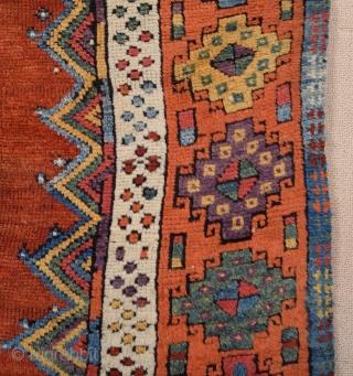 Early 19th Century Central Anatolian Konya Prayer Rug size 113x183 cm