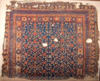 Early 18th Century Khotan Large Fragment size 240x280 cm