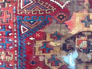 Early 19th Century Aksaray Rug size 150x160 cm