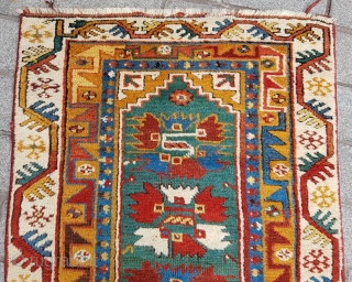 Lovely Small Megri Rug circa 1870 size 90x145 cm