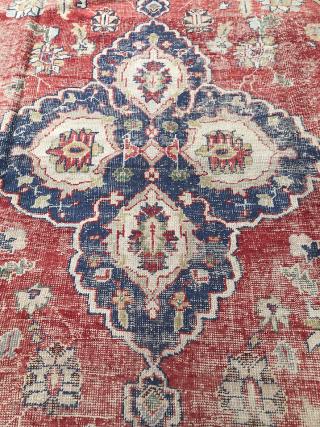 Early 20th Century Turkish Ushak Carpet size 370x480 cm
