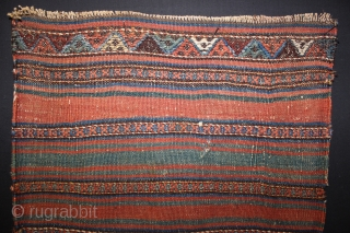 ca.1900 wonderful Jaf bag,,great natural colours,,size:122x60 cm  4x2 ft