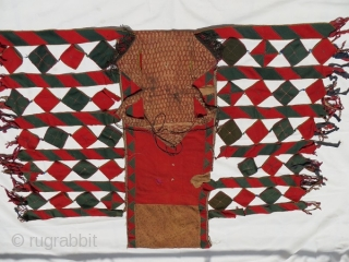 antique Tekke trapping bridal camel cover,size 175x155cm