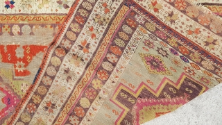 Middle anatolia (sivas), Late 19th century Natural dyes !