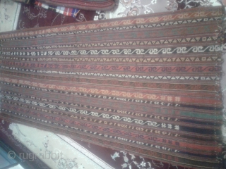 Shahsavan jajim from first half 20th century (1900-1920).