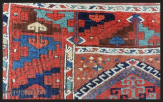 East Anatolian rug. See Hermann X plate 20 for a related piece with same border dated as 18th century. A related but later piece is plate 92 of Rugs of the  ...