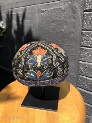 Central Asian hat. 20th century. Uzbek?