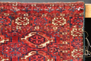 I'm not sure if these early Tekke chuvals are an actual pair, or just very similar. They've clearly spent a lot of time together :) Both have top of the range colour, wool  ...