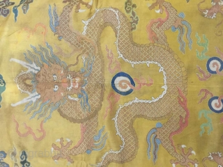 In the qing dynasty qianlong palace imperial robe