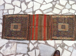 West anatolia sadle bag good condition very nice colore
