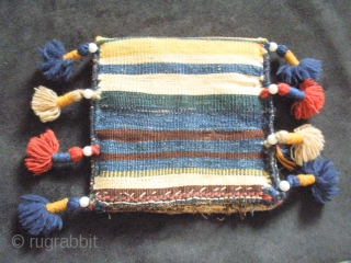 Old Luri little bag. Rare  Exxelent collors natural Dyed.