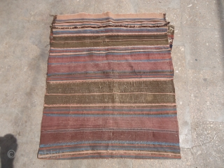 """Baluch Grain Bag with nice colors and design,fine weave and original kilim backing.Size 2'10""""*2'5"""".E.mail for more info and pics."""