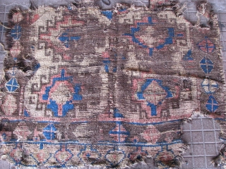 Fragment rug from konya region(central anatolia)
