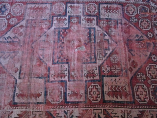 Bergama rug (western anatolia)from second half 19th century. Size: 158 x 128cm - 5.18ft x 4.20ft. To visit my other collections, https://www.etsy.com/your/shops/KILIMSE