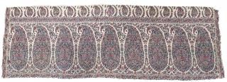 Palledar Fragment of Kani Jamawar, From Kashmir, India. c.1820-1840. Its Size is 44cmx130cm (20200404_152503).