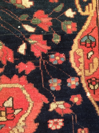 Antique Mishan Malayer Rug 1910 1925 153x113 Cm It 180 S