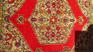 Very fine Tabriz, circa 1900, 70 x 58