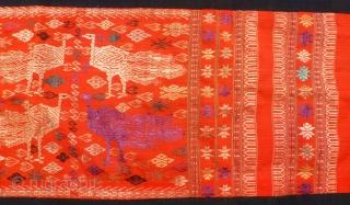 Textile Indonesia, 137 x 40. Price upon request.