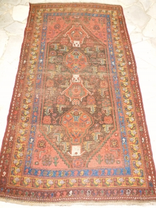 Antique Kurde, 215 x 117, low pile, but nice. Price upon request