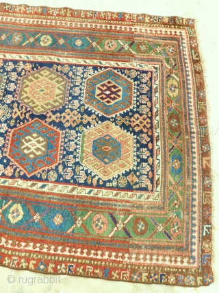 Nice Kurdish 293 x 135cm. Very good colors  and good condition for his age. Reasonable price upon  request.