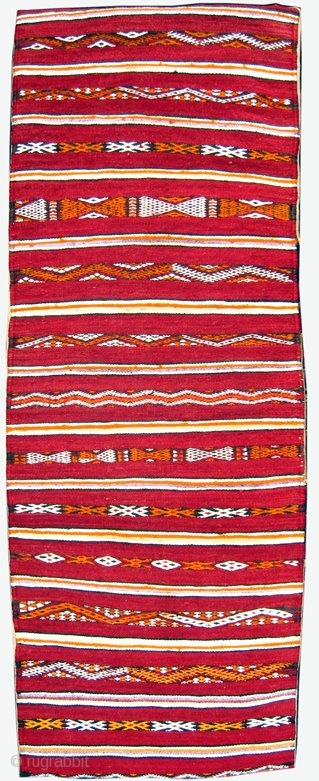 MOROCCAN MIDDLE ATLAS BERBER PILLOW / BAG - although this type of double sided pillow from Zeimour in the western Middle Atlas is fairly common, seriously old, fine examples like this are  ...