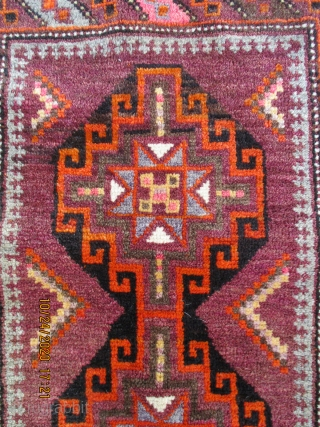 "BALUCH/BELOUCH tent bag, called a ""Ballisht"" and woven by Taimani people in north west Afghanistan. This group and their weavings is well described b R. D. Parsons in is authoratative book ""The  ..."