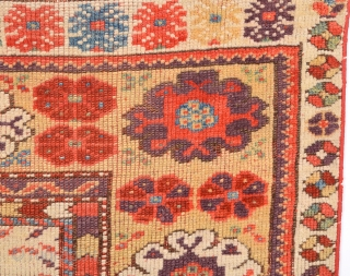 Early 19th Century Anatolian Melas Rug.It's in Good Condition And Untouched Piece.Size 92 x 125 Cm