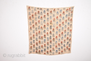 Early 19th Century Unusual Ottoman Textile Size 0 x 90 Cm